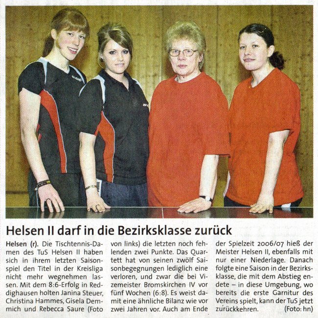 20090317 Aufstieg Damen II
