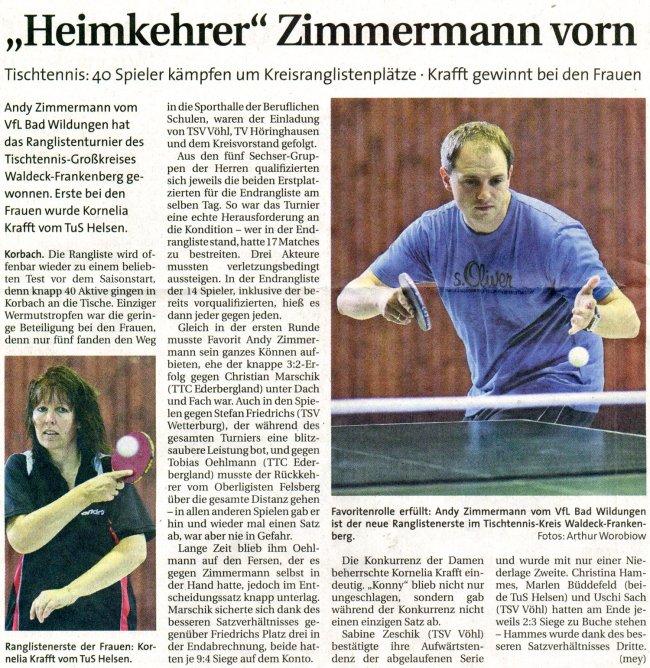 20090823 - WLZ - Kreisrangliste