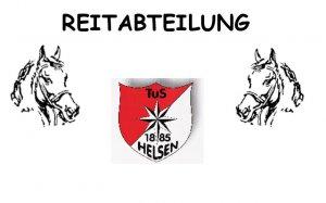 Reiabteilung TuS 1885 Helsen