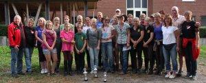 Gruppenbild 3. Fun und Trail-Ritt